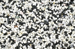 Pebble stones background texture Stock Image