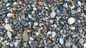 Pebble stones background texture stock photography