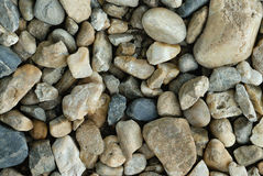Pebble stones. Closeup for background Royalty Free Stock Photography