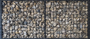 Pebble stones pattern Royalty Free Stock Photo