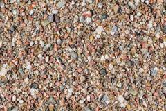 Pebble Stones. Seamless Texture Stock Image
