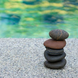 Pebble stones stack Stock Photography