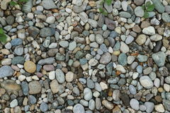 Pebble stones on the surface. Pebble stones on an area Stock Images