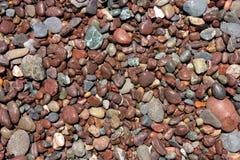 Pebble stones texture Royalty Free Stock Photos