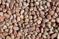 Pebble stones texture Royalty Free Stock Image