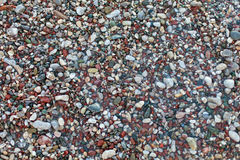 Pebble stones texture Royalty Free Stock Images