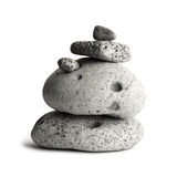 Pebble stones tower. Royalty Free Stock Photo