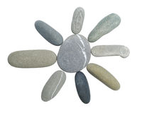 Pebble sun Royalty Free Stock Photo