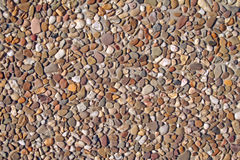 Pebble texture Stock Photography