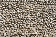 Pebble texture wall Royalty Free Stock Photography