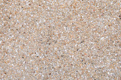 Pebble texture wall and background Royalty Free Stock Photos