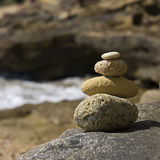 Pebble tower Stock Photos