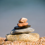 Pebble tower Stock Photography