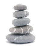 Pebble tower Stock Image