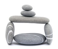 Pebble tower Stock Images