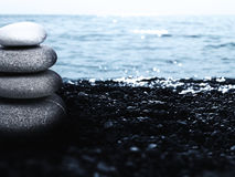 Pebble tower Royalty Free Stock Photos