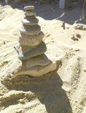 Pebble tower Stock Image