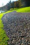 The pebble walkway Royalty Free Stock Photos
