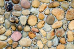 Pebble wall Stock Photos