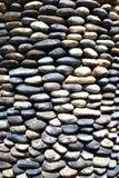 Pebble Wall Stock Photo