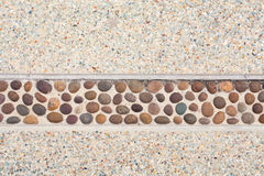 Pebble wall Royalty Free Stock Images
