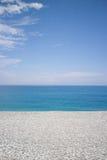 pebbled пляж Стоковое фото RF