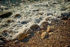 Pebbled beach Stock Photo