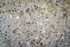 Pebbled betonu tło fotografia royalty free
