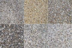 Pebbled Concrete 1 Stock Images