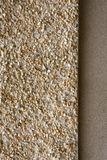 Pebbledash and concrete wall render Stock Photography