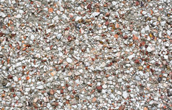 Pebbledash wall. Close up rendered and pebbledash wall royalty free stock photography