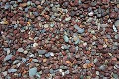 pebblen stenar textur Royaltyfria Foton