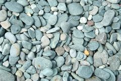 Pebbles. On a beach Royalty Free Stock Photography