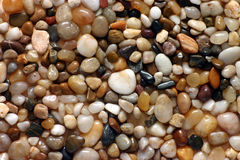 Pebbles. Colorful polished pebbles from the beach Royalty Free Stock Photography