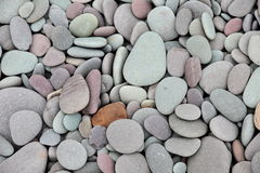 Pebbles. Rounded pebbles on a beach Royalty Free Stock Photos