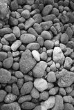 Pebbles. On an island in Greece Stock Image