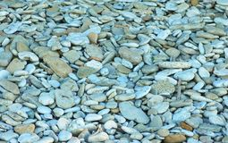 Pebbles. Pebble stones on the beach Royalty Free Stock Image