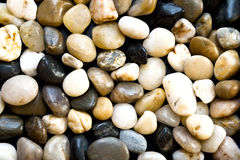 Pebbles. Amorphus pebbles piled upon each other Stock Photography
