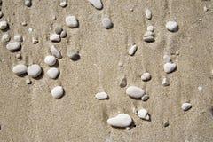 Pebbles. Many pebbles at the beach stock photography