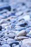 Pebbles. Group of pebbles in shades of blue Royalty Free Stock Photography