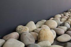 Pebbles as deco Stock Photo