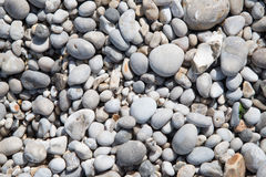 Pebbles background Royalty Free Stock Photos