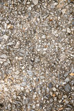 Pebbles background - instagram filter. Small stones on the beach Royalty Free Stock Photo