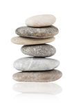 Pebbles balanced stack Royalty Free Stock Photography