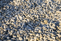 Pebbles beach Stock Photography