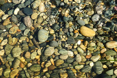 Pebbles on beach Royalty Free Stock Photography
