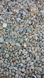Pebbles. On the Beach Royalty Free Stock Photography