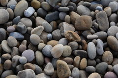 Pebbles on the beach Stock Photo