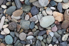 Pebbles on the beach. Batumi. Georgia. Royalty Free Stock Photo