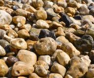 Pebbles on beach Royalty Free Stock Photos